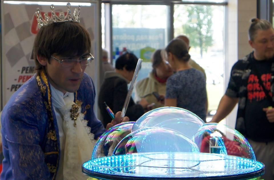 Замок из мыльных пузырей | Bubbles Show