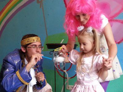 Фея и принц | Bubbles Show