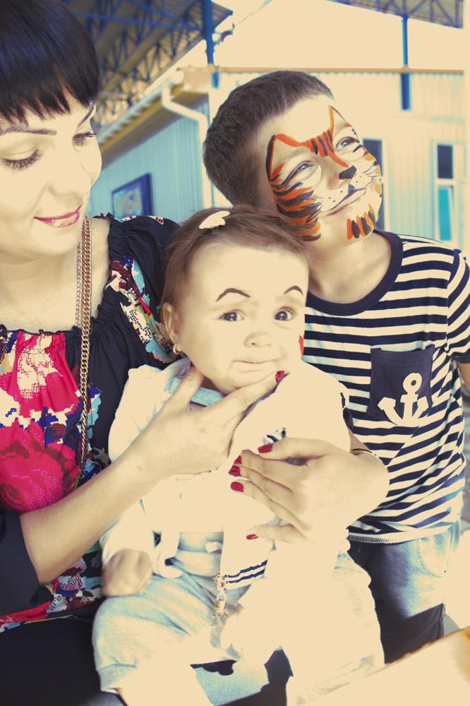 Аквагрим на день рождение ребенку
