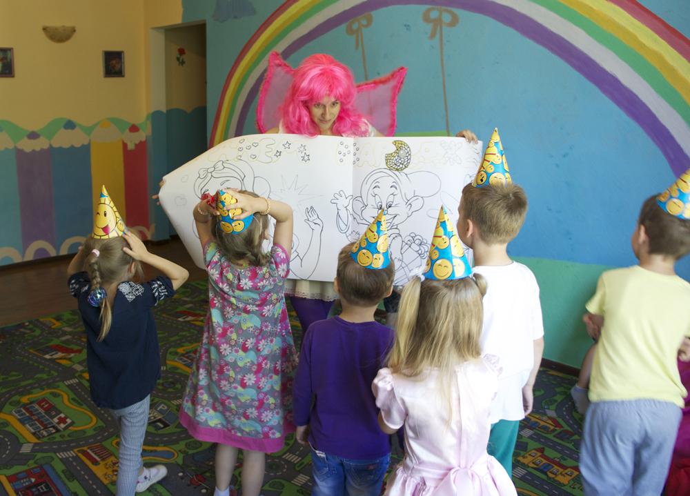 Фея в детском саду