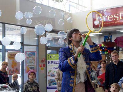 Разноцветные пузыри | Bubbles Show