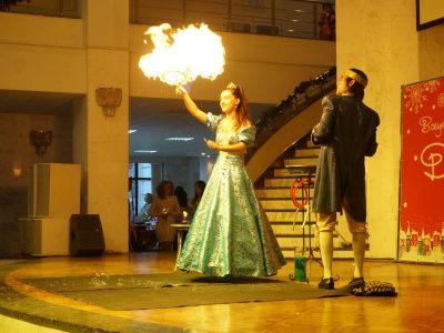 Мыльный пузырь в огне | Bubbles Show