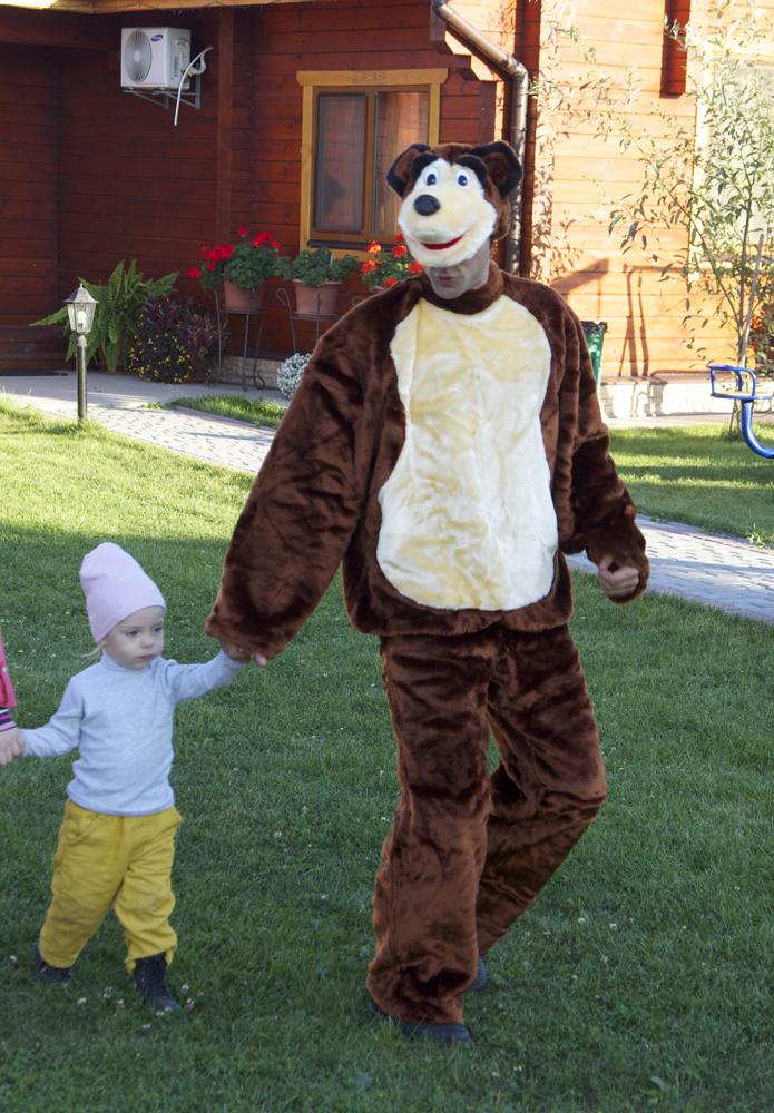 Медведь на праздник