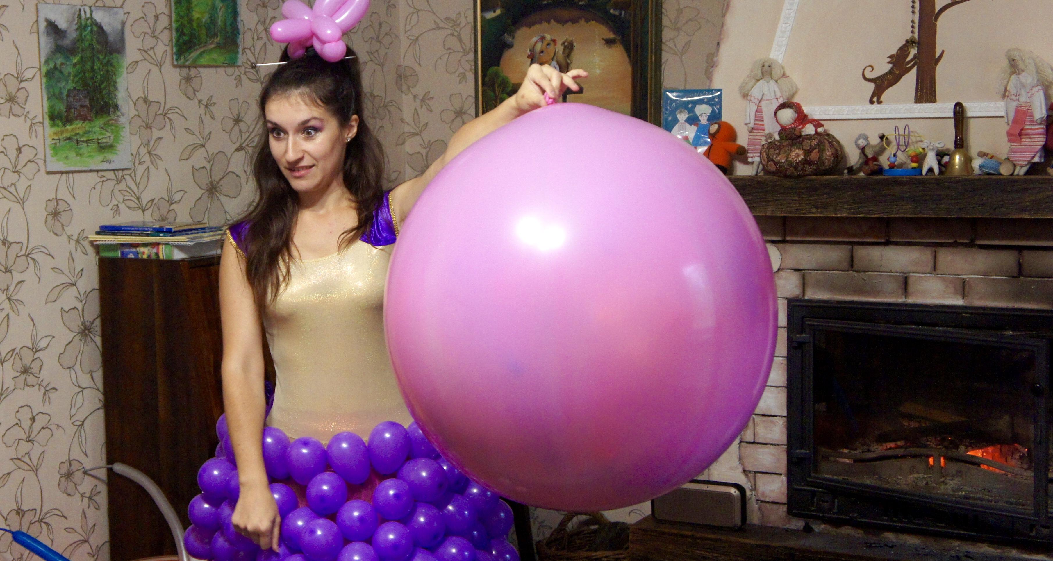 Шар сюрприз | Balloon Twisting Show