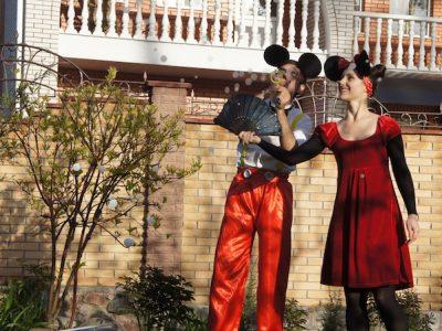 Миики и Мини Маус с шариками | Bubbles Show