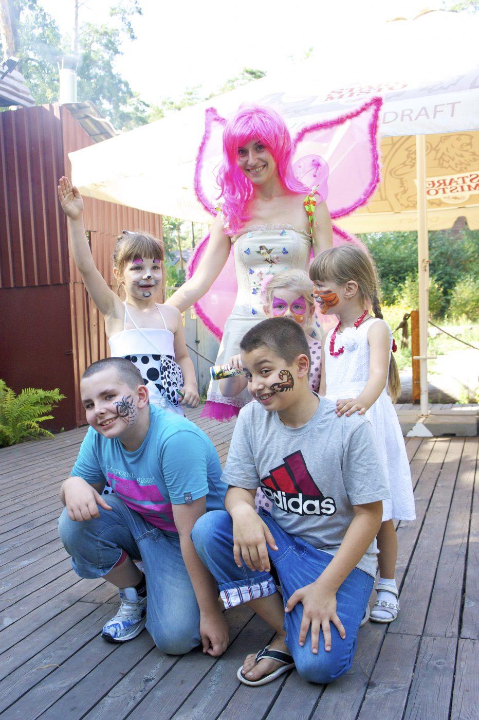 Фея и дети | Аквагрим