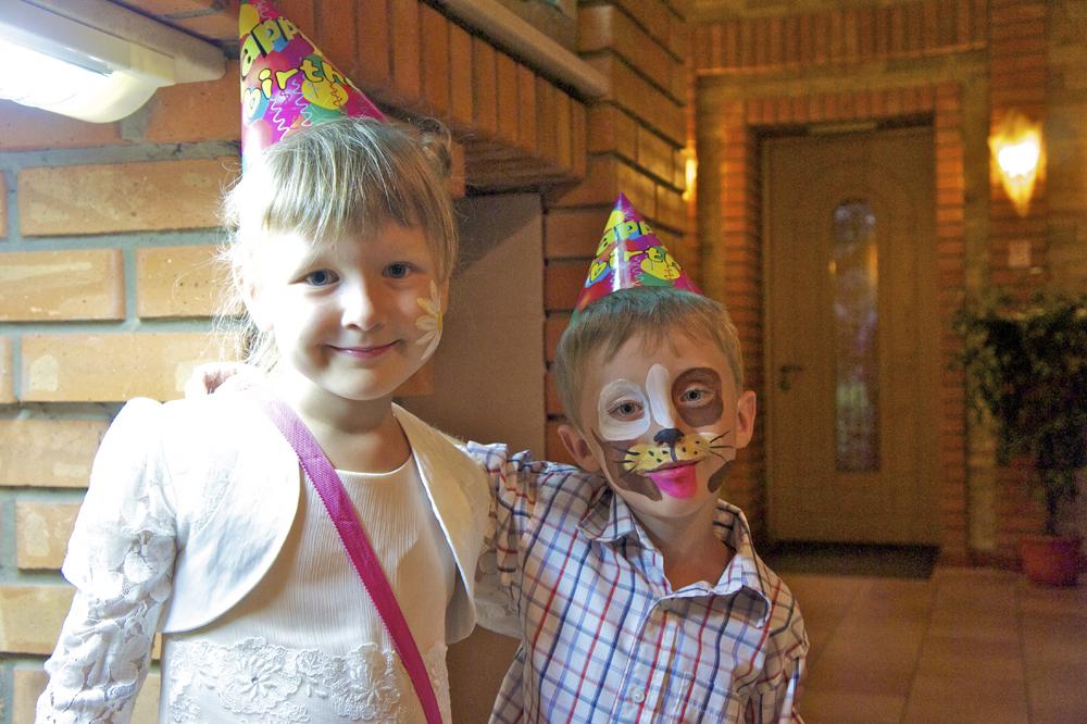 Дети | Аквагрим