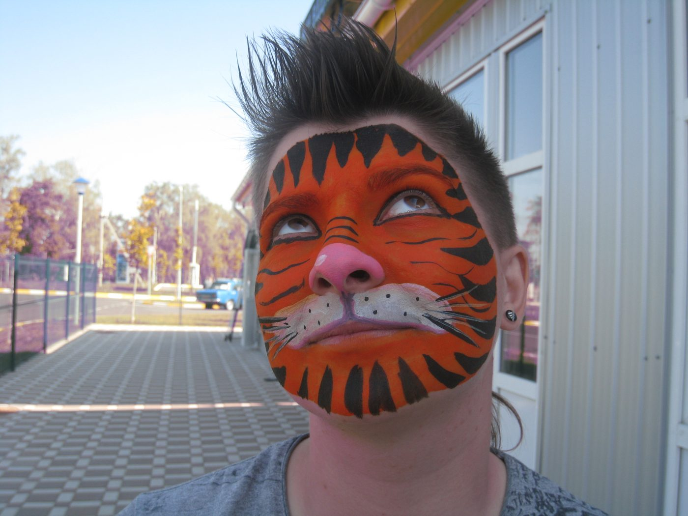 Мальчик-тигр | Аквагрим