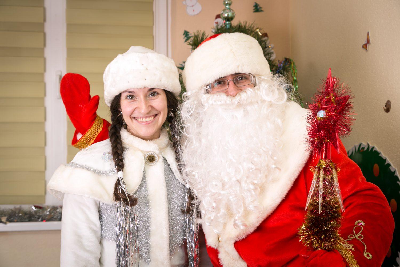Дед Мороз и Снегурочка на ваш праздник
